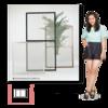 【セルフリフォーム】アパートに「川口技研 窓用網戸 OK組立アミド」を取り付けました