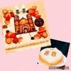 伯父の米寿のお祝い~ケーキのモチーフは浦上教会~