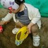 砂遊びデビュー(1歳3ヶ月と4日目)