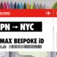 クイズに答えてニューヨークに行ける! ナイキがエア マックスにまつわるスペシャルなクイズ大会を開始します。