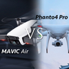 Mavic AirとPhantom4 Proの比較!どっちが空撮ドローンにオススメか?