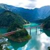 SLとトロッコ列車で行く湖上に浮かんだ秘境駅!!奥大井湖上駅と接岨峡に行ってみた