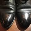 【革靴の銀浮きを直そう!】雨に濡れて表面がボコボコになった革靴を簡単に治す方法