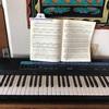 キーボードでピアノの練習