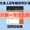 無計画→大崩壊!!社会人2年目の家計簿(2018年9月の結果)