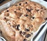 とかち野酵母 冷蔵発酵で作る◎こねないレーズンパン。