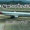 福岡から韓国へ アシアナ航空が飛んだ