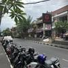 バリ島 サヌールの街