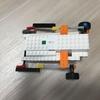 レゴで歩くような感じで前に進んでいくものを作った