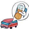 タクシーに酔う飼い主 密かに悩んでいます。。。原因と対策