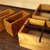 木製ペンケースとコーヒーフィルタースタンドを作ってみた