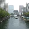 月島「もんじゃストリート」で初心者に優しい「えびすや」へ!~水路に囲まれた新旧入り混じる意外と新しい街~