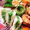 塩揉み胡瓜でシンプル胡瓜サンドイッチのワンプレート