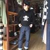 男の黒は永遠に渋い!!クッシュマンのモーターサイクルセーター&Dポケスウェット!