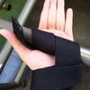 デッドリフトの握力補助にリストストラップを購入!使い方を学びました。