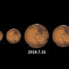 15年ぶりの火星大接近は終わったが、実は8月はある意味見ごろ