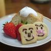 シフォンケーキ(アンパンマンクッキー)