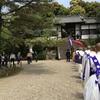 磯長 叡福寺での立教開宗会 大法要に出仕