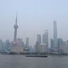 上海旅行一日目(2)。浦東から、観光トンネルを抜けての外灘散策。近代建築と茶叶蛋