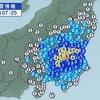 ★また関東地方(さいたま市)で「震度4」の地震。