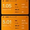 朝RUN JOG 5km+WS×5本