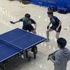 ひじよーーに 惜しかった(T . T) ダブルス3回戦・令和元年度三重県卓球選手権