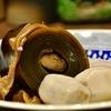 豊洲の「米花」で鯖味噌、ニシン昆布巻き、里芋煮、根菜と厚揚げと鶏肉の煮物。