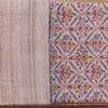 タッサーシルクとミンサーの半巾帯