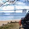 沙弥島までドライブ