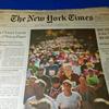 ニューヨークシティマラソンとニューヨーク・タイムズの追憶