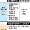 同一労働・賃金の指針案 基本給の差 是正は限定的 - 東京新聞(2018年11月5日)
