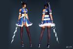 【紅粉青蛾&猛虎シリーズ】青が美しい新衣装のご紹介