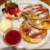 パンケーキ専門店j.s. pancake cafe(JOURNAL Cafe)に行って、パンケーキをフレンチトースト風にしてあるやつ食べてきたよ!