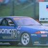 BNR32カルソニック スカイラインGT-Rとp's モータースポーツと日産プリンス東京販売ディーラーステッカー