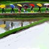 朝の呟き 雨の日はイラストを、、、
