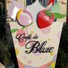 福岡から佐賀県鳥栖市にある「カフェドブルー」にパフェを食べに行った話