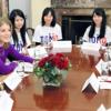 「在米日系人リーダー招へいプログラム」でアイリーン・ヒラノ・イノウエ米日カウンシル会長と11名の日系人が来日