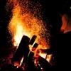 お化け屋敷で夫と新生活スタート④ 【満天の星の下で焚き火をしながら過ごした大晦日の夜】