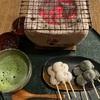 eX cafe(イクスカフェ) 京都嵐山本店🍡 ほくほく、お団子セット/天龍寺パフェセット