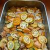 鶏肉といろいろズッキーニのさっぱり煮