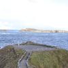礼文島の岬と灯台