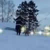 70代シニアのインスタグラム270日~雪山から眺める景色!