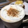 【Starbucks】パンプキンスパイスラテと洋なしとミルクティーのパンナコッタ