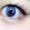 瞳の中に。