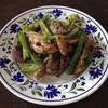 夏バテる前に調整しておこう…鶏モモ肉とピーマンの炒め物 グリーンカレー味