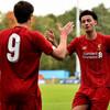 UEFAユースリーグでリバプールU19が勝利