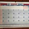 2021年のカレンダーを購入!