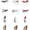 トリコロール エナメルパンプス (BLUE, WHITE, RED) | RABOKIGOSHI works(ラボ キゴシ ワークス)