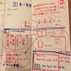スケジュール(予定と実施)、手書きとパソコン