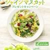 【7/20】サラダクラブシャインマスカットキャンペーン【バーコ/はがき】